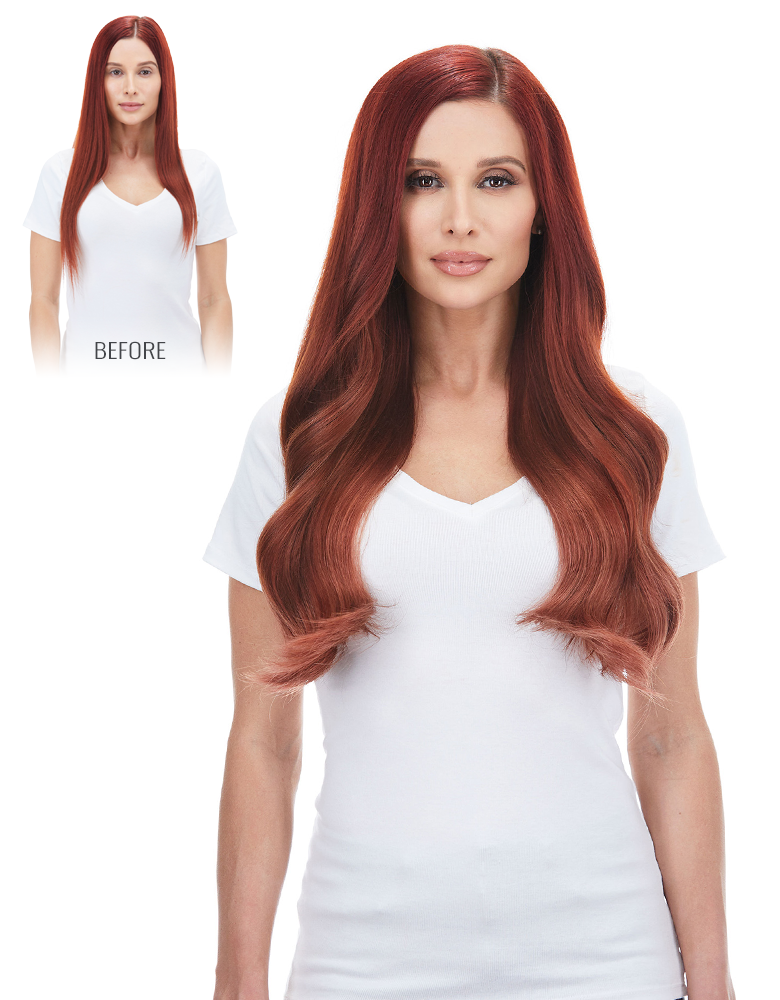 BELLAMI Silk Seam 180 Grams 20 Inch Hair Extension Collection