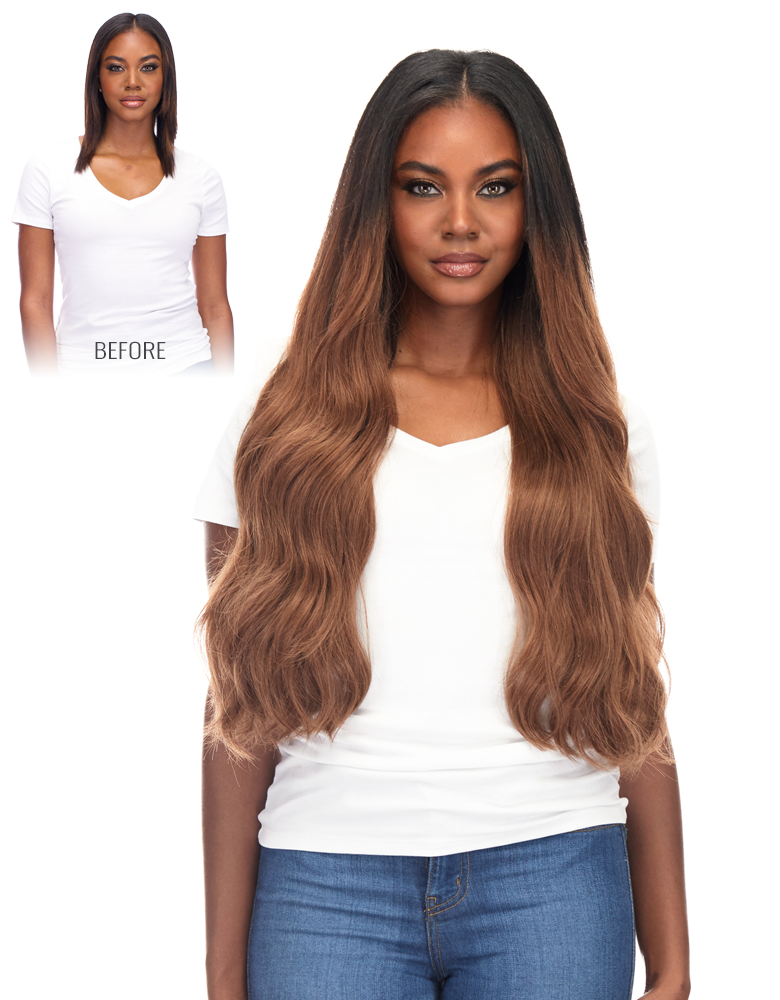 BELLAMI Silk Seam 240 Grams 22 Inch Hair Extension Collection