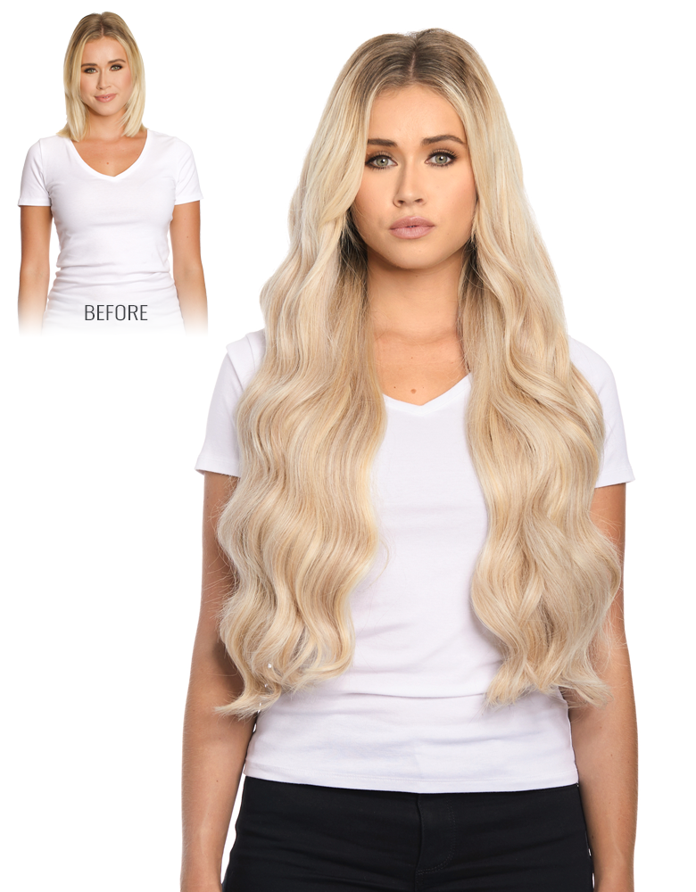 BELLAMI Silk Seam 260 Grams 24 Inch Hair Extension Collection