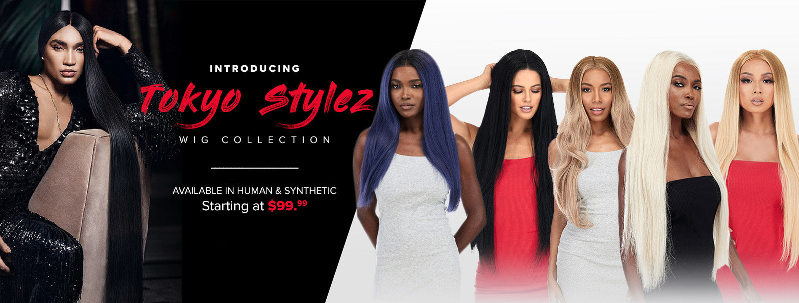 tokyo styles human and synthetic wigs