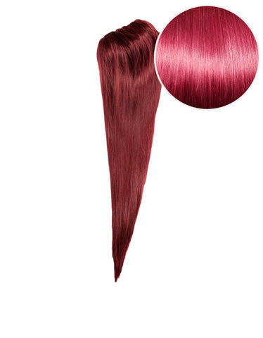 "Faux Clip Ponytail 160g 20"" Poisonberry (118)"