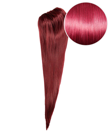 "Faux Clip Ponytail 180g 24"" Poisonberry (118)"