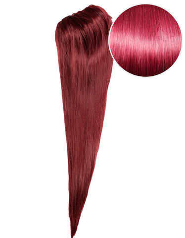 "Faux Clip Ponytail 200g 28"" Poisonberry (118)"