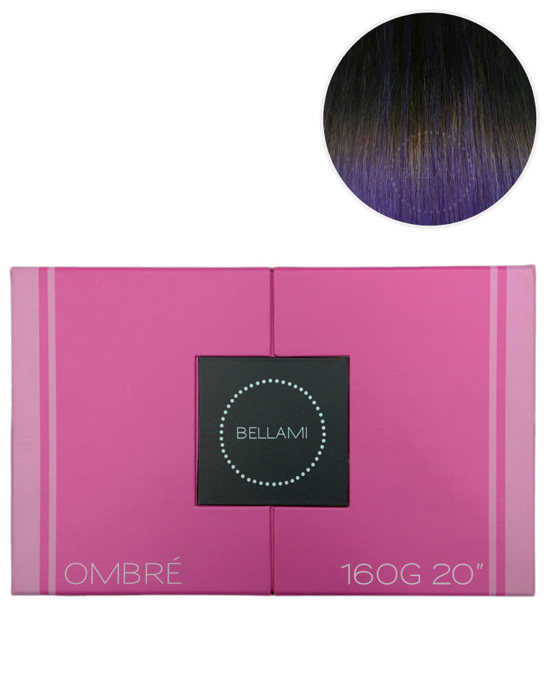 Purple Ombre Hair Extensions Bellami Bellami Hair