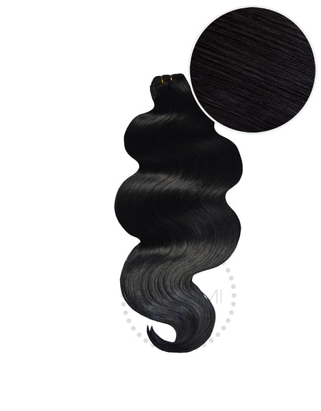 "BELLAMI Body Wave Bundles 145g 20"" Jet Black (1)"