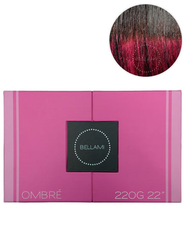 "BELLAMI 220g 22"" Ombre #1B/Poisonberry"