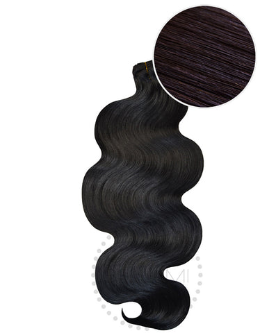 "BELLAMI Body Wave Bundles 160g 22"" Off Black (1B)"