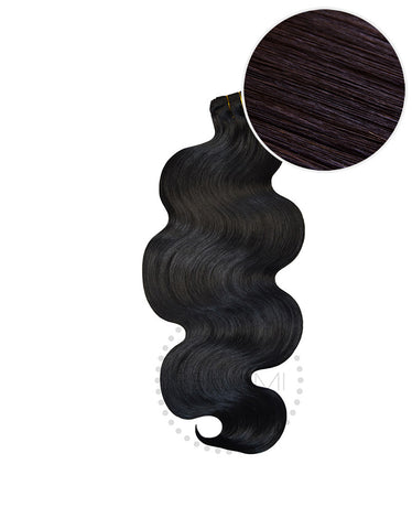"BELLAMI Body Wave Bundles 145g 20"" Off Black (1B)"