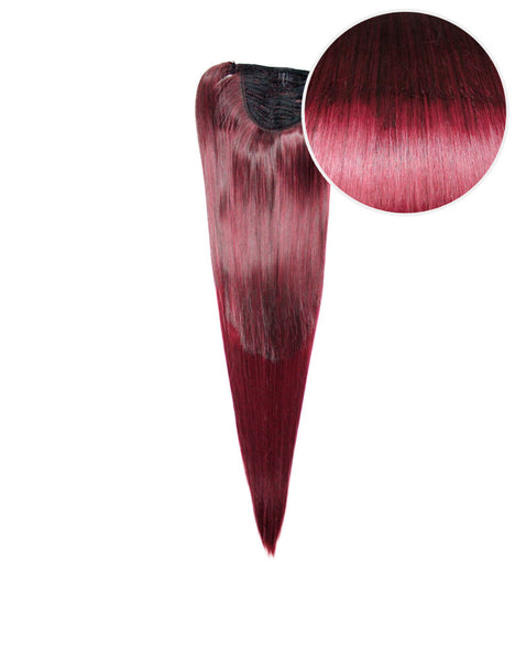 "Faux Wrap Ponytail 160g 20"" Poisonberry Swirl (2/118)"