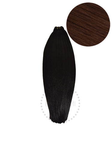"BELLAMI Straight Bundles 145g 20"" Dark Brown (2)"
