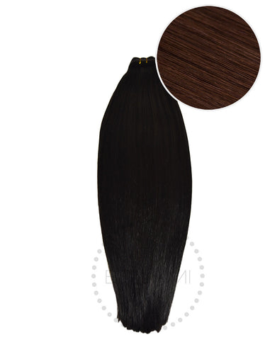 "BELLAMI Straight Bundles 160g 22"" Dark Brown (2)"