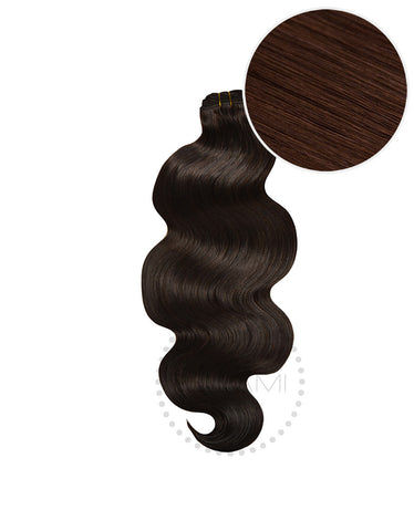 "BELLAMI Body Wave Bundles 145g 20"" Dark Brown (2)"
