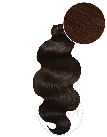 "BELLAMI Body Wave Bundles 160g 22"" Dark Brown (2)"