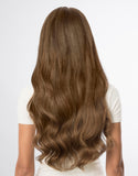 "BELLAMI BELL AIR 20"" 230g #6 CHESTNUT BROWN Hair Extensions"