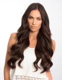 "BELLAMI BELL AIR 20"" 230g #2 DARK BROWN Hair Extensions"