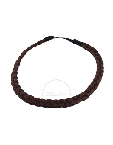 Braided Hairband Vibrant Red (33)