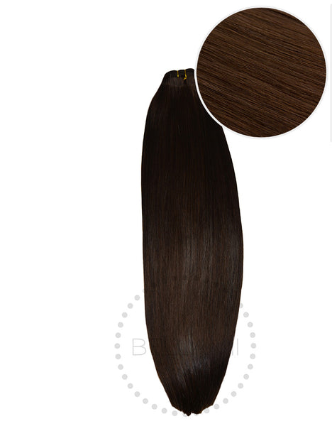 "BELLAMI Straight Bundles 160g 22"" Chocolate Brown (4)"