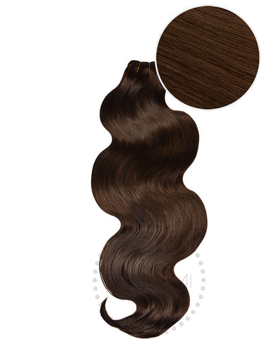 "BELLAMI Body Wave Bundles 160g 22"" Chocolate Brown (4)"