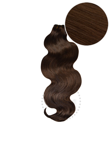"BELLAMI Body Wave Bundles 145g 20"" Chocolate Brown (4)"