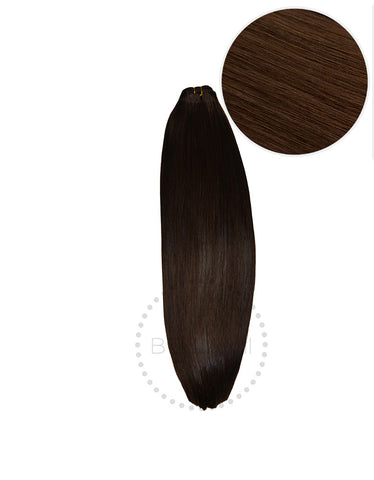 "BELLAMI Straight Bundles 145g 20"" Chocolate Brown (4)"