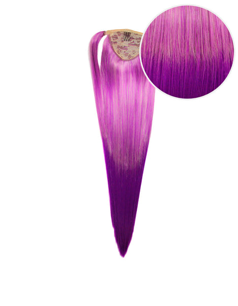 "Faux Wrap Ponytail 160g 20"" Purple Fusion (88/51P)"