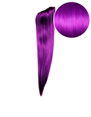 "Faux Clip Ponytail 160g 20"" Electric Purple (51P)"