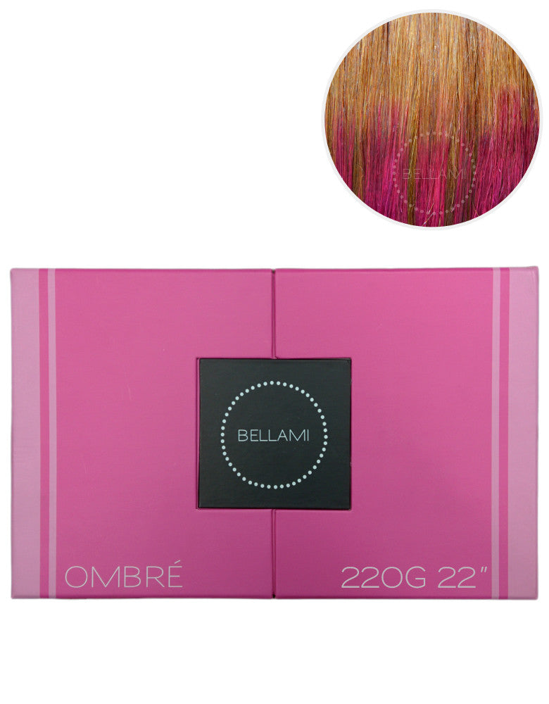"BELLAMI 220g 22"" Ombre #6/Poisonberry"