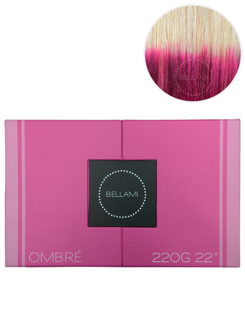 "BELLAMI 220g 22"" Ombre #60/Poisonberry"