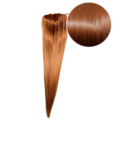 "Faux Clip Ponytail 160g 20"" Chestnut Brown (6)"