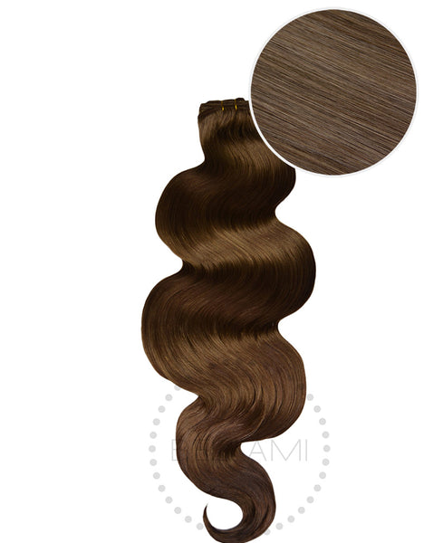 "BELLAMI Body Wave Bundles 160g 22"" Ash Brown (8)"