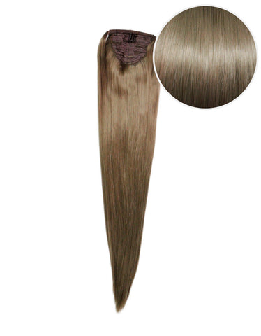 "Faux Wrap Ponytail 180g 24"" Ash Brown (8)"
