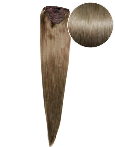 "Faux Wrap Ponytail 200g 28"" Ash Brown (8)"