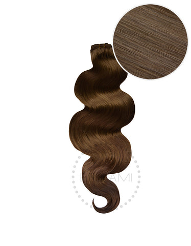"BELLAMI Body Wave Bundles 145g 20"" Ash Brown (8)"