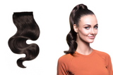"BELLAMI It's A Wrap Ponytail 16"" 80g Mochachino Brown (#1C) Human Hair"