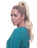 "BELLAMI It's A Wrap Ponytail 20"" 100g  Ash Blonde (#60) Human Hair"