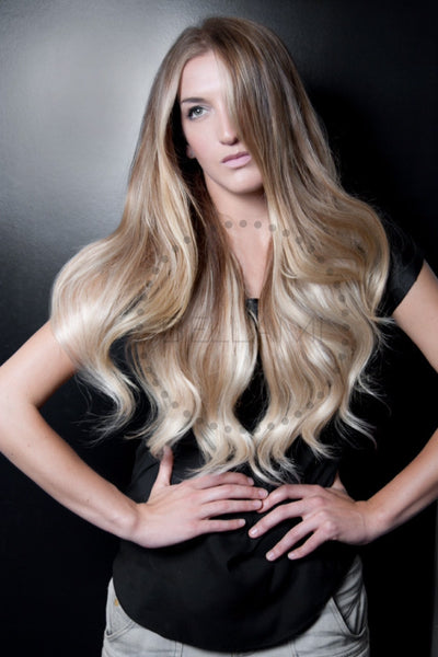 Balayage 220g 22 Quot Ombre Ash Brown Ash Blonde Hair