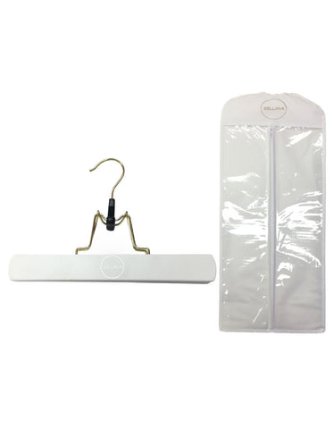 Bellami Hair White Extensions Carrier & Hanger