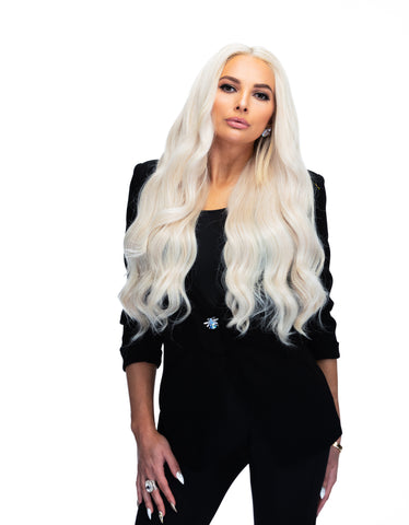 "Platinum Perfection by Zach Mesquit 22"" 240g Hair Extensions"