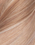 "BELLAMI Volumizer Weft 18"" 50g Straight Bronzed Caramel Marble Blends (MB#6/18/8/60)"