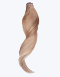 "BELLAMI Silk Seam 50g 18"" Volumizing Weft Bronzed Caramel Marble Blends (MB6/18/8/60)"
