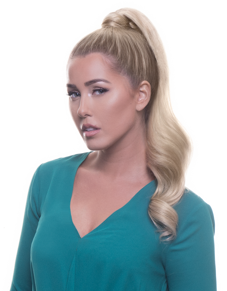 "BELLAMI It's A Wrap Ponytail 20"" 100g  Butter Blonde (#10/16/60) Human Hair"