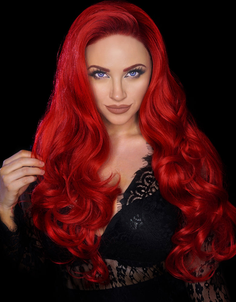 "GLAM & GORE SYNTHETIC WIG CARRIE 28"" 320G"