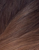 "BELLAMI Volumizer Weft 20"" 50g Straight Dark Brown/Ash Brown Ombre (O#2/#8)"