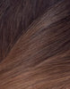 "BELLAMI Silk Seam 55g 22"" Volumizing Weft Dark Brown/Ash Brown Ombre (O2/8)"