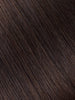 "BELLAMI BELL AIR 12"" 120g #2 DARK BROWN Hair Extensions"