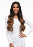 "BELLAMI Silk Seam 240g 22"" Dark Brown/Ash Brown Ombre (2/8) Hair Extensions"