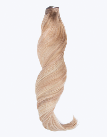 "BELLAMI Silk Seam 140g 18"" Golden Hour Blonde Balayage Hair Extensions"