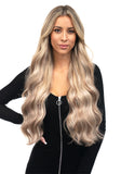 "BELLAMI Silk Seam 240g 22"" Ash Bronde Highlight (21/60/16) Hair Extensions"