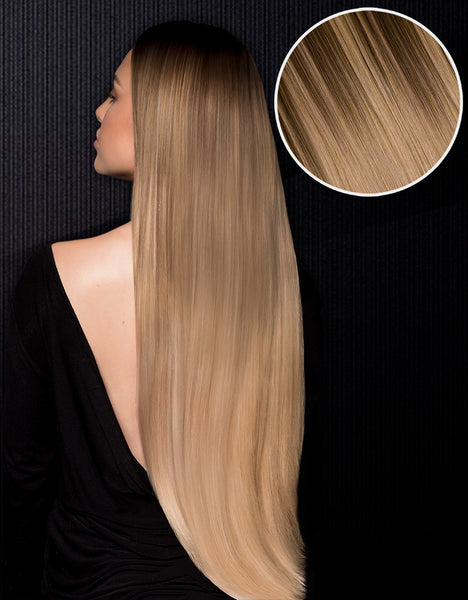 "Nathalie Paris 240g 22"" Cool Brown #17 / Honey Blonde #24"