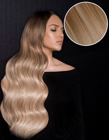"Nathalie Paris 240g 22"" Warm Blonde #19 / Ash Blonde #60"